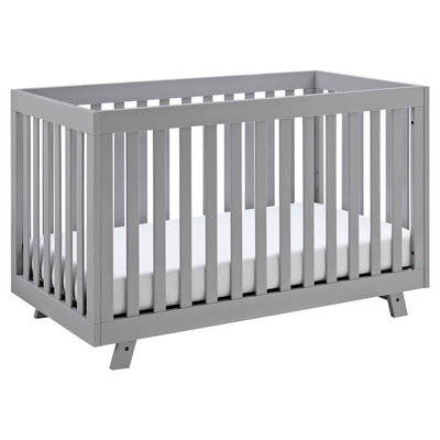 Storkcraft Status Beckett 3-in-1 Convertible Crib - Pebble Gray
