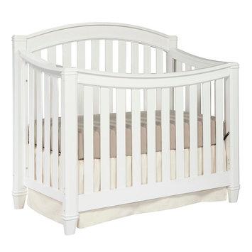 Storkcraft Thomasville Kids Highlands 4-in-1 Convertible Crib - White