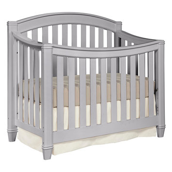 Storkcraft Thomasville Kids Highlands 4-in-1 Convertible Crib - Pebble Gray