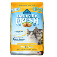 BLUE Naturally Fresh Ultra Odor Control Natural Cat Litter 14lb