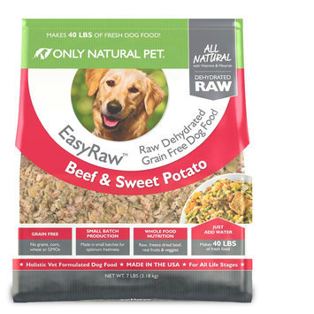 Only Natural Pet EasyRaw Beef & Sweet Potato 8 lbs