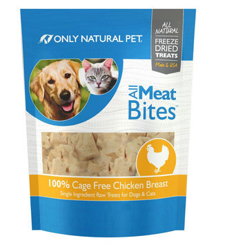 Only Natural Pet All Meat Bites Chicken 2.5 oz
