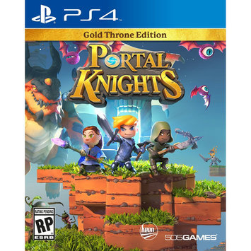 505 Games Portal Knights Gold Throne Edition Playstation 4 [PS4]
