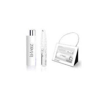 LaTweez Pro Illuminating Tweezers with Lipstick Case, White, 0.5 Pound