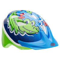 Bell Sports Bell Sprout Crocagators Infant Bike Helmet - Blue/Green