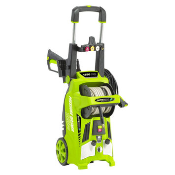 120 Volts, 60Hz, 12 Amp, 1440 Watts 1650 Psi Electric Pressure Washer - Green - Earthwise