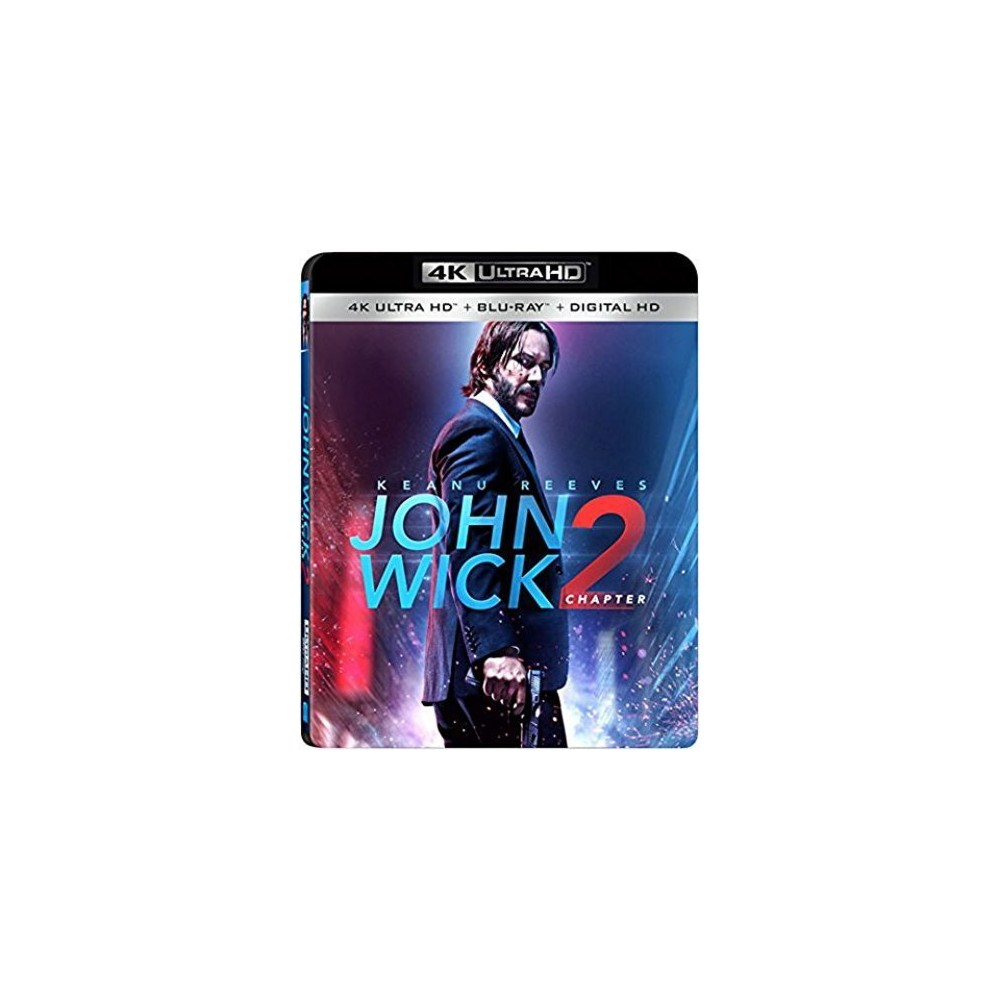 John Wick Chapter 2 (4K/Uhd + Blu-ray + Digital)