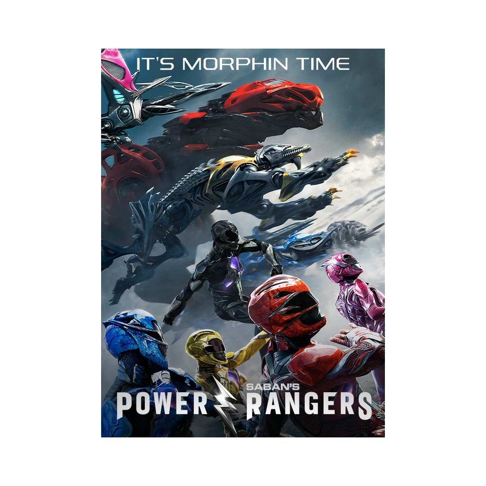 Saban's Power Rangers (Blu-ray + Dvd + Digital)