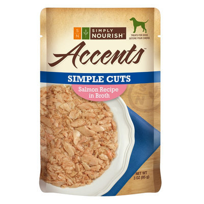 Simply Nourish, Accents Adult Dog Food - Simple Cuts, Salmon size: 3 Oz