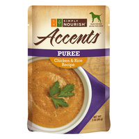 Simply Nourish, Accents Adult Dog Food - Puree, Chicken and Rice size: 3 Oz