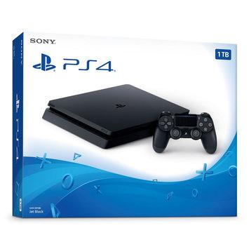 Sony PlayStation 4 1TB Console, Black