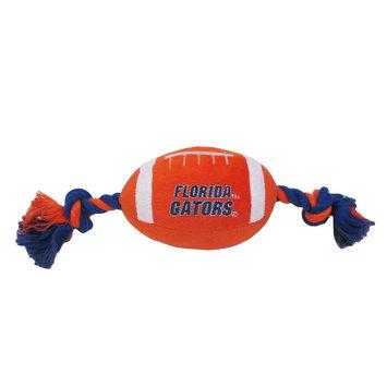DoggieNation Florida Gators Plush Football Dog Toy 0.5 lb