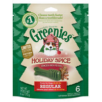 Greenies® Holiday Spice Regular Dental Dog Treat size: 6 Count