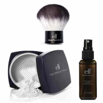 elf Studio High Definition Loose Face Powder With Makeup Mist and Set, Clear,...