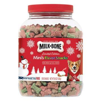 Milk Bone Milk-Bone Limited Edition Mini's Flavor Snacks Dog Treat