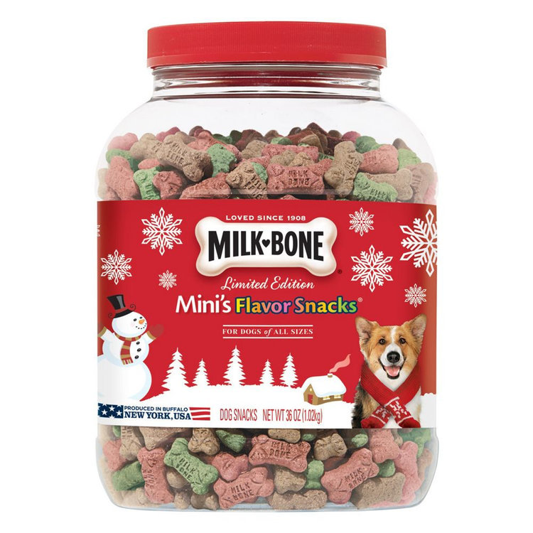 Milk Bone Milk-Bone Limited Edition Mini's Flavor Snacks