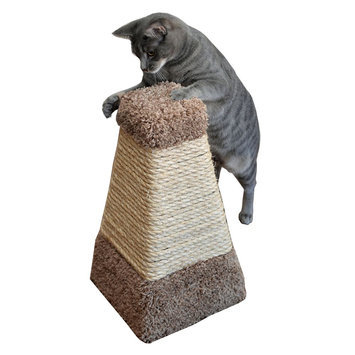 Whisker City® Pyramid Cat Sctracher size: 8