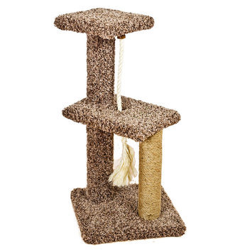 Whisker City® Two Story Tower Rope Cat Scratcher