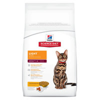 Hill's Science Diet Adult Light Dry Cat Food - 17.5 lb