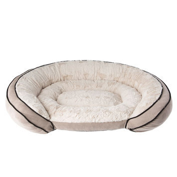 Top Paw® Orthopedic Memory Foam Couch Dog Bed size: 20