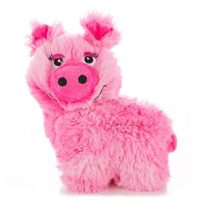 Top Paw, Swirl Pig Dog Toy - Squeaker, Plush