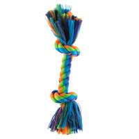 Top Paw® 2 Knot Rope Bone Dog Toy size: Small
