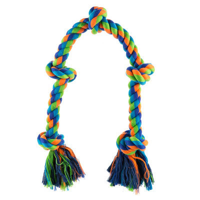Top Paw® 5 Knot Rope Dog Toy size: X Large