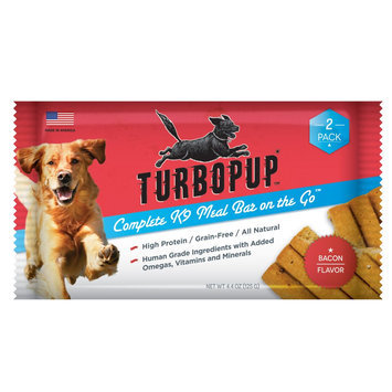TurboPUP Meal Bar Bacon 2 Pack