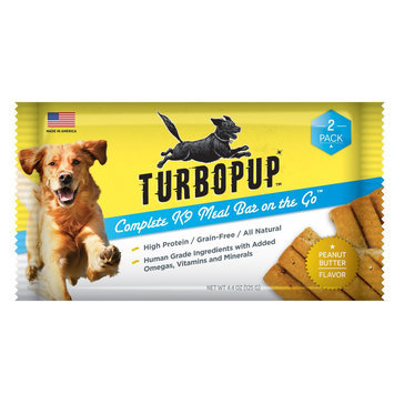 TurboPUP Meal Bar Peanut Butter 2 Pack