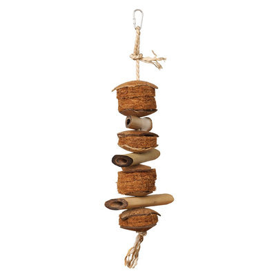 All Living Things® Natural Snack Stack Bird Toy