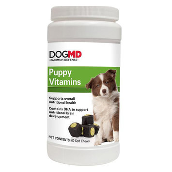 Dog MD, Maximum Defense Puppy Vitamins size: 60 Count