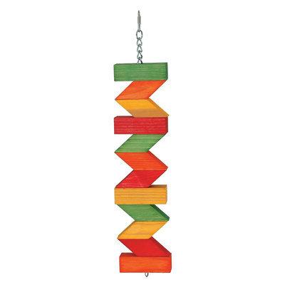 All Living Things® Zig Zag Blocks Bird Toy