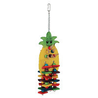 All Living Things® Pineapple Blocks Bird Toy