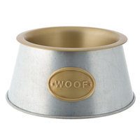 Top Paw® Woof Dog Bowl size: 8