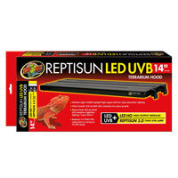 Zoo Med Reptisun LED UVB Terrarium Hood - High Output: 14