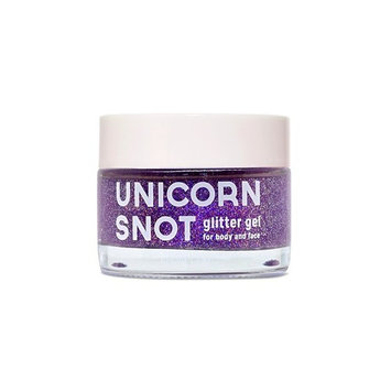 Unicorn Snot Vegan and Cruelty Free Glitter Gel for Face, Body, and Hair in Holographic Purple