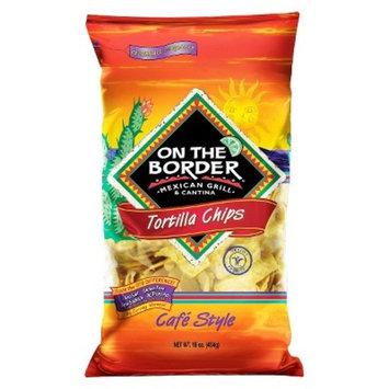 On The Border Café Style Tortilla Chips - 16oz
