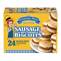 Odom's Tennessee Pride Sausage & Buttermilk Biscuits, 24 Count
