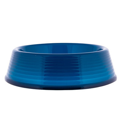 Top Paw® Transparent Dog Bowl size: 50.7 Fl Oz, Blue