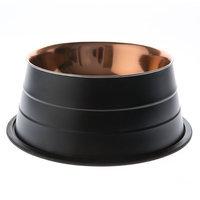 Top Paw® Black Gold Dog Bowl, Brown