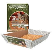 ExquisiCat® Naturals Pine Cat Litter size: 28 Lb Bonus Bag