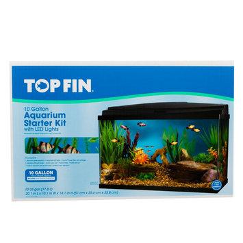 Top Fin® Led Aquarium Starter Kit size: 10 gal