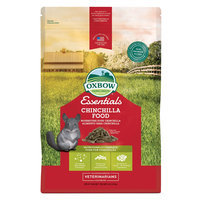 Oxbow Essential Chinchilla Food Small Pet size: 3 Lb