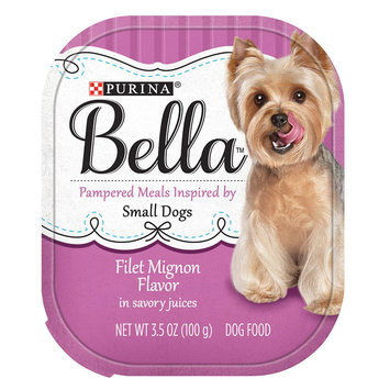 Purina® Bella Small Dog Food - Filet Mignon size: 3.5 Oz
