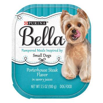 Purina® Bella Small Dog Food - Porterhouse Steak size: 3.5 Oz