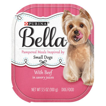 Purina® Bella Small Dog Food - Beef size: 3.5 Oz