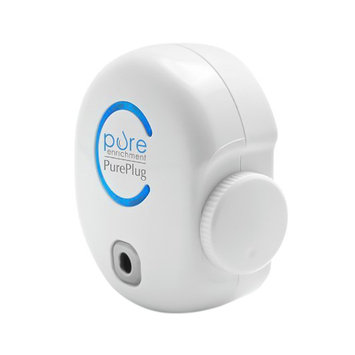 Pure Enrichment PurePlug Air Purifier - Small Space Direct Plug-in Purifier Cleans the Air of Bacteria, Viruses, Fungi, & More - Ozone Regulator Designed to Completely Destroy Odors