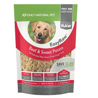Only Natural Pet EasyRaw Beef Trial Size 4 oz