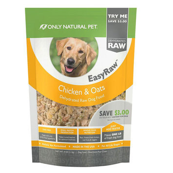 Only Natural Pet EasyRaw Chicken & Oats 4 oz Trial Size