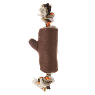 Top Paw® Stump with Rope Dog Toy